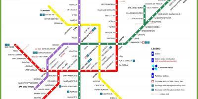 Milan Mapu Mape Milan Lombardiji Italija